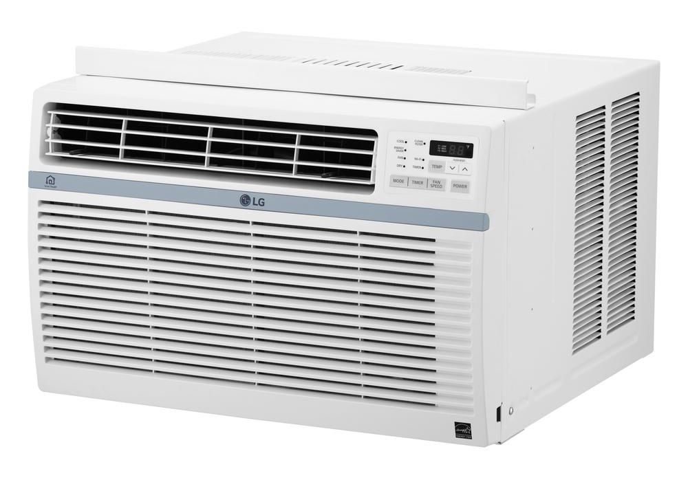 lg 8 000 btu 12 1 eer window air conditioner lw8017ersm