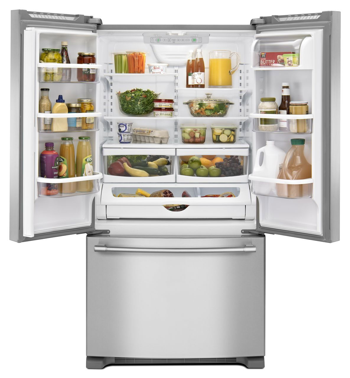Maytag Stainless French Door Refrigerator - MFC2062FEZ