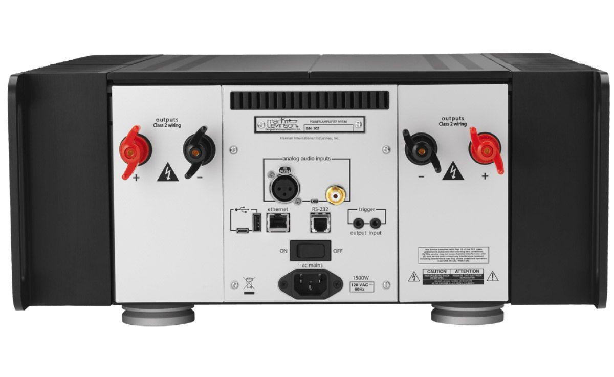 Mark Levinson No536 Monaural Amplifier Class 2 Audio Wiring