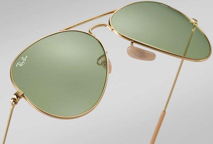 d44c318bbca Ray-Ban Aviator Evolve Gold Aviator Sunglasses - RB3025 90644C 58