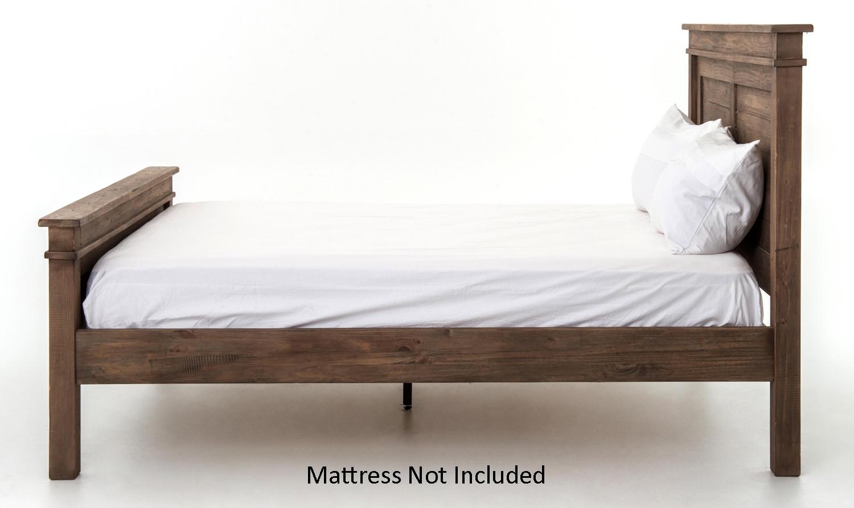 Queen Bed Frame Early Settler: Four Hands Sundried Settler Qta Platform Queen Bed