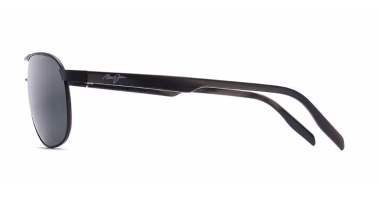 c809be8992c6 Maui Jim Castles Matte Black Mens Sunglasses - 728-2M