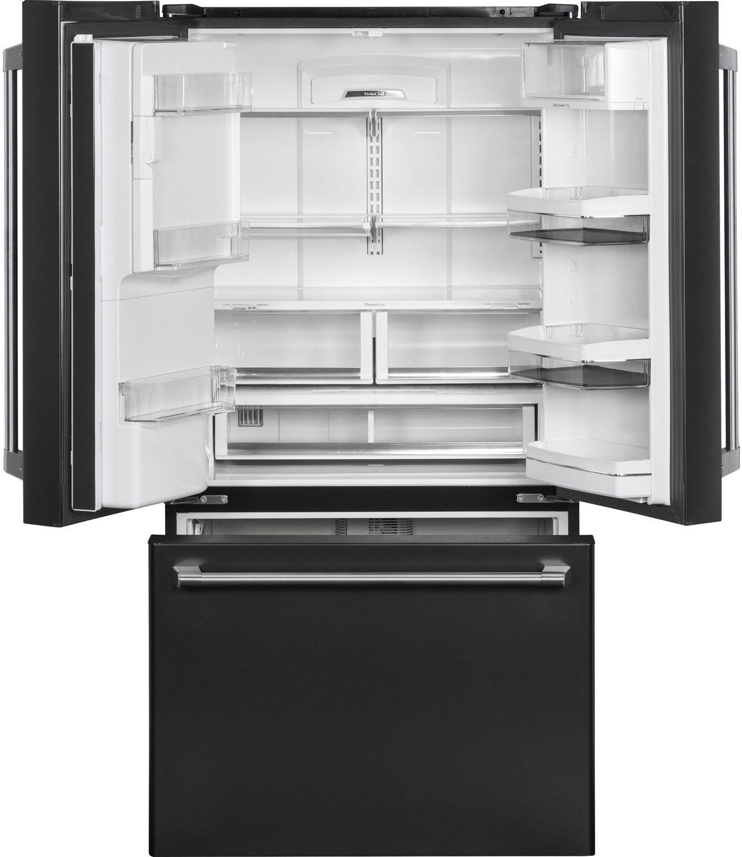 Ge cafe black slate french door refrigerator cfe28uelds main image 1 2 rubansaba
