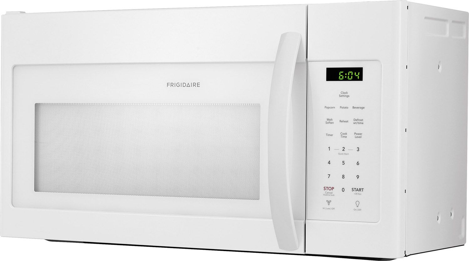 Frigidaire White Over-The-Range Microwave