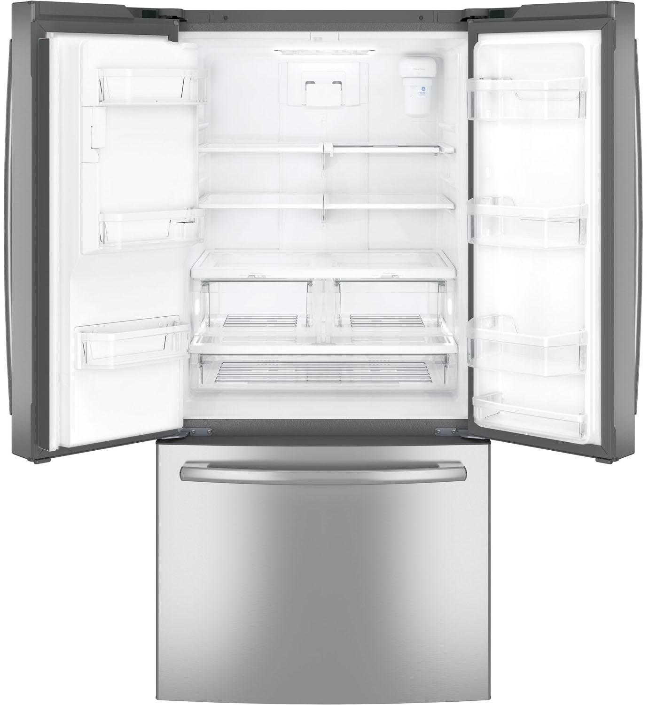 GE 23 8 Cu Ft French Door Refrigerator GFE24JSKSS