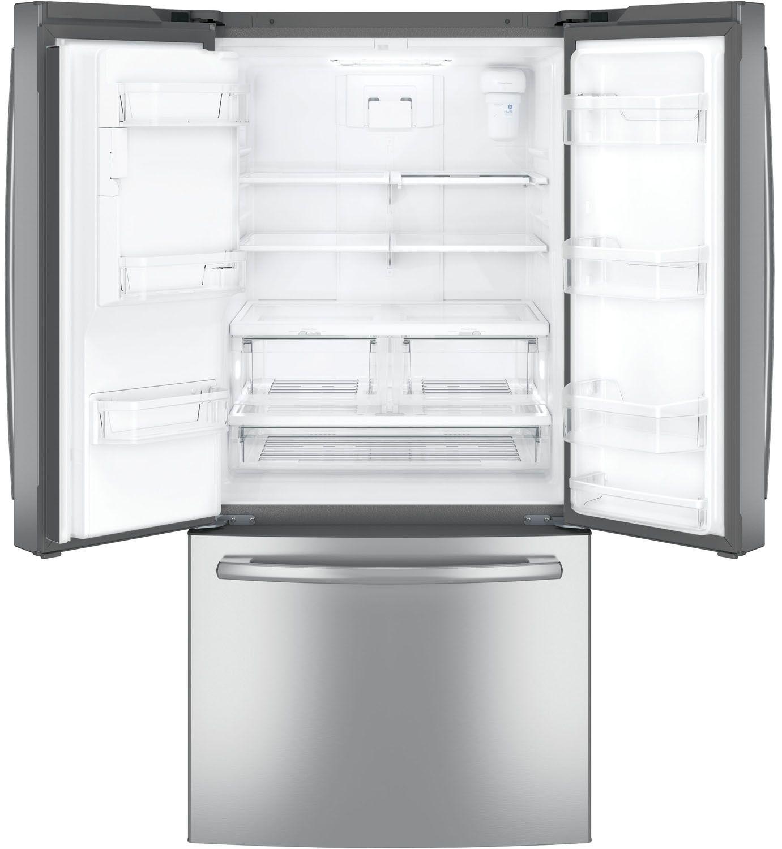 Ge 238 cu ft french door refrigerator gfe24jskss main image 1 2 rubansaba