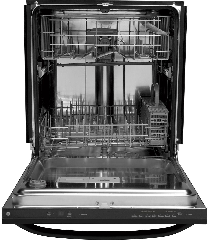 Ge 24 Quot Black Built In Dishwasher Gldt690jbb