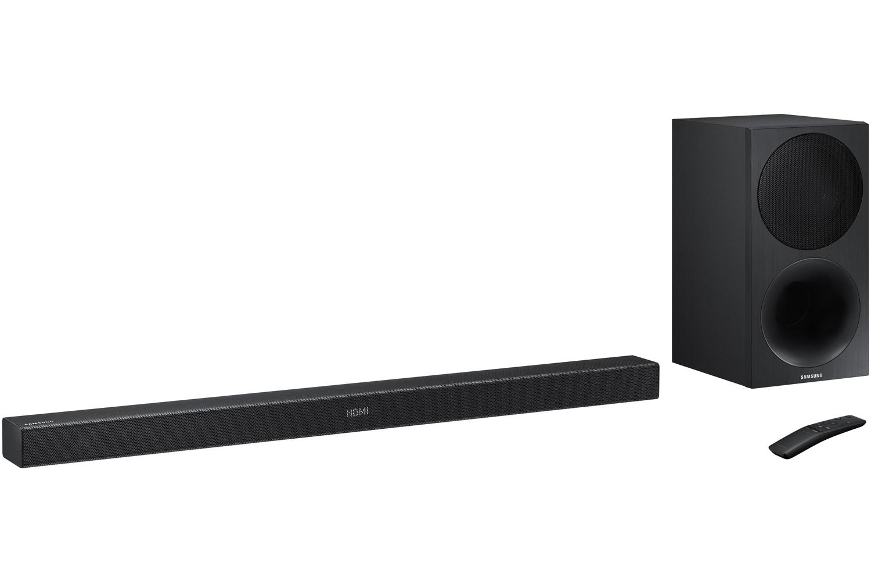 Samsung 2 1 Channel Sound Bar With Subwoofer Hw M450 Za