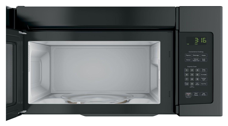 Ge 1 6 Cu Ft Over The Range Microwave Oven Jnm3163djbb