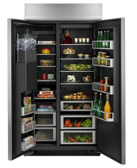 Jenn Air Built In Side By Side Refrigerator Js42ssdude