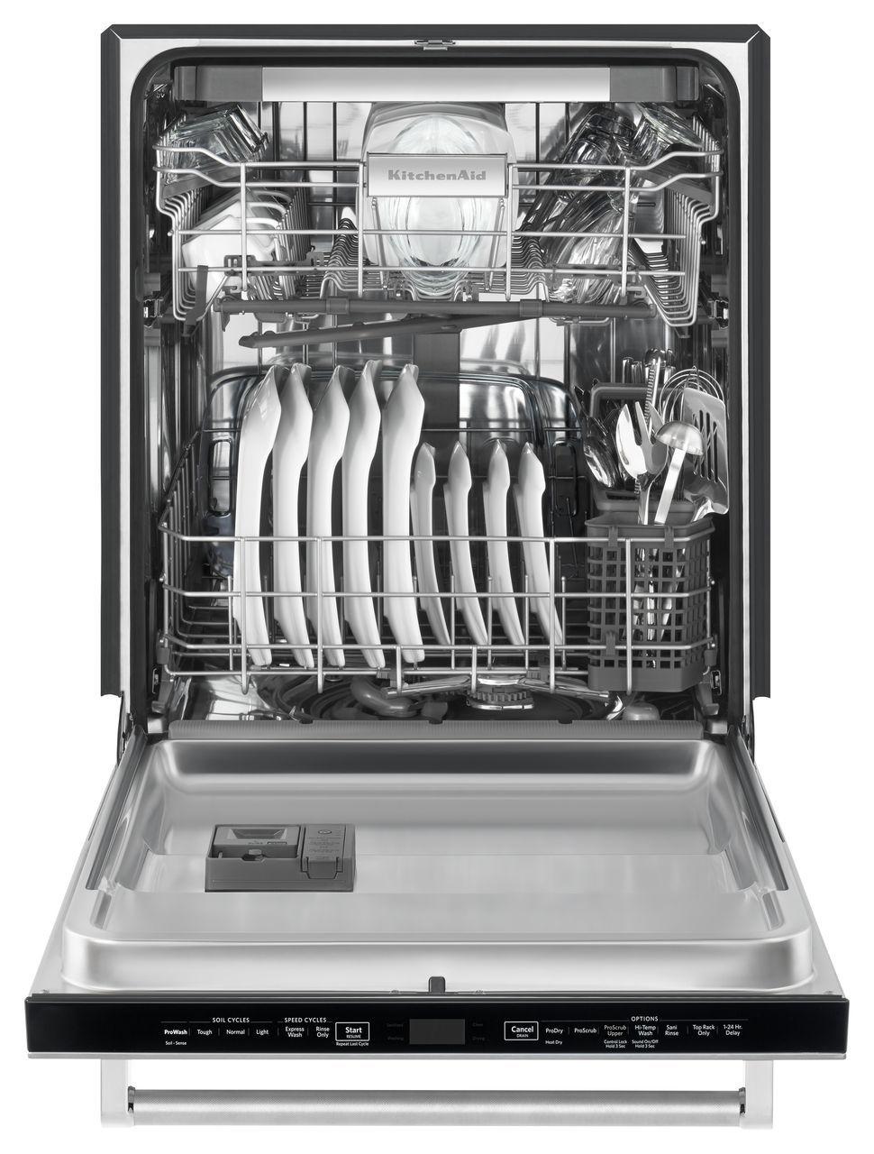 Kitchenaid Built In Stainless Dishwasher Kdtm404ess