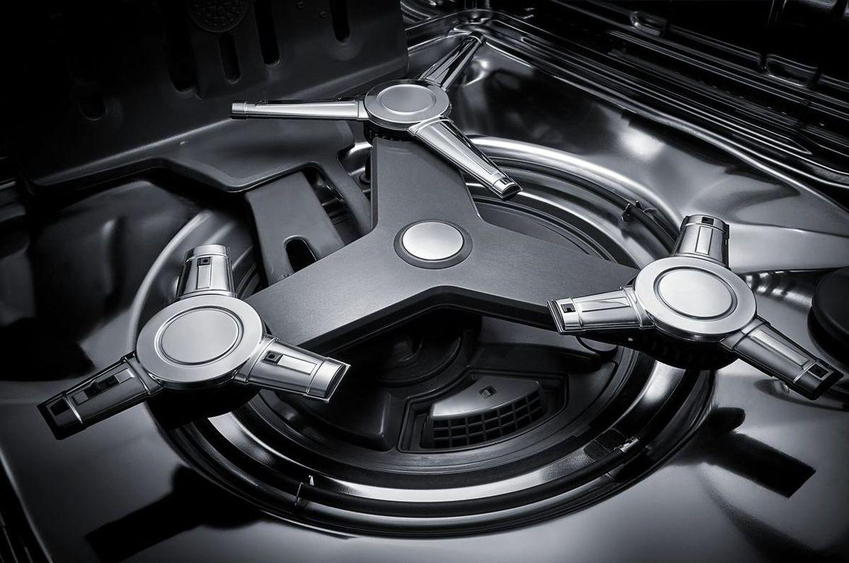 Kitchenaid Black Stainless Dishwasher Kdtm404ebs