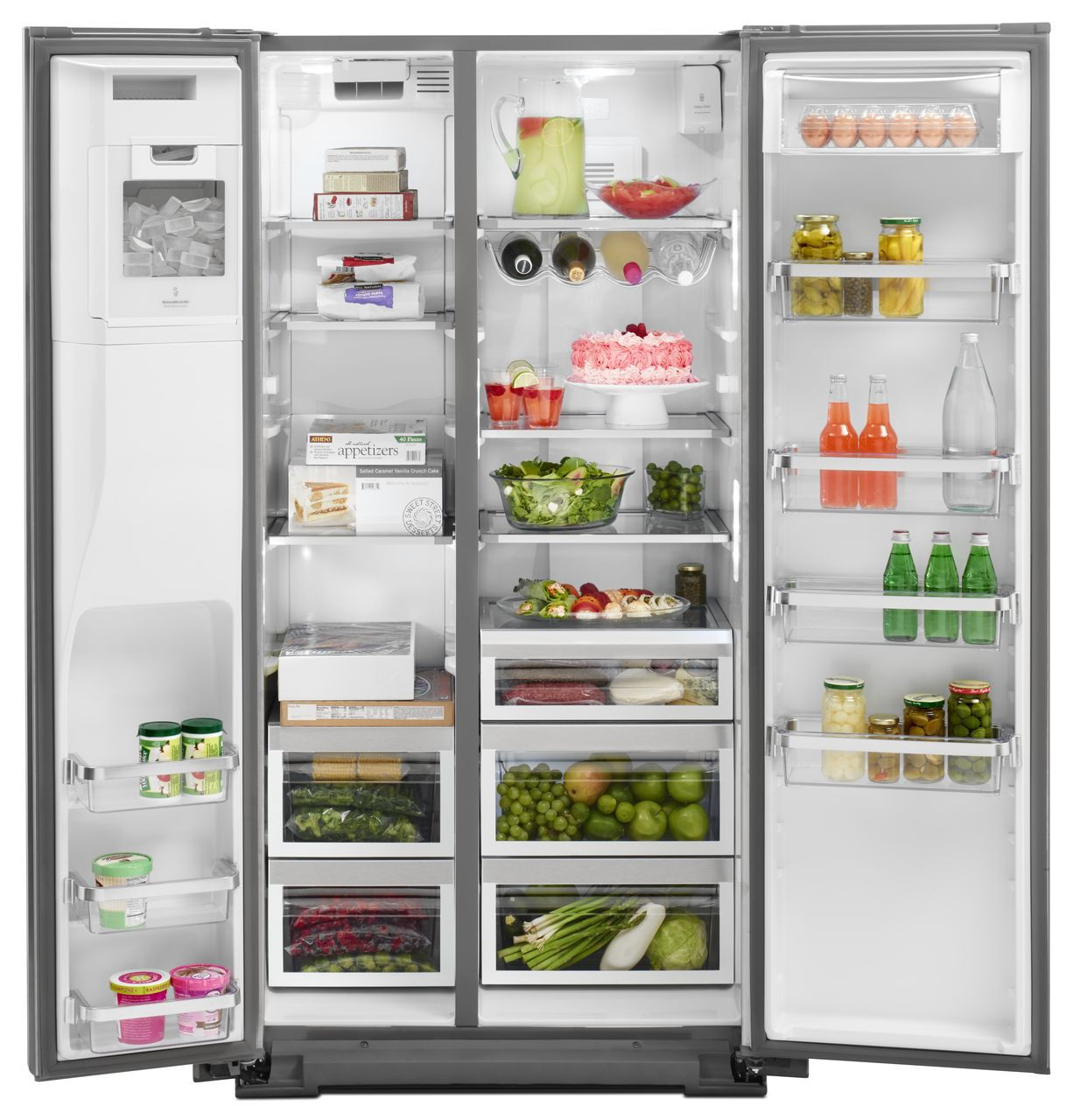 Kitchenaid Side By Side Refrigerator Krsc503ess