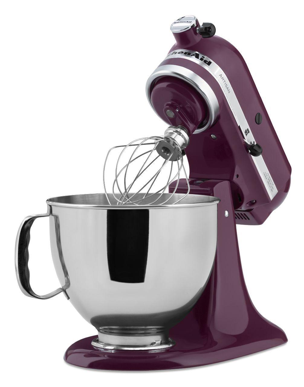 Kitchenaid Artisan Boysenberry Stand Mixer Ksm150psby