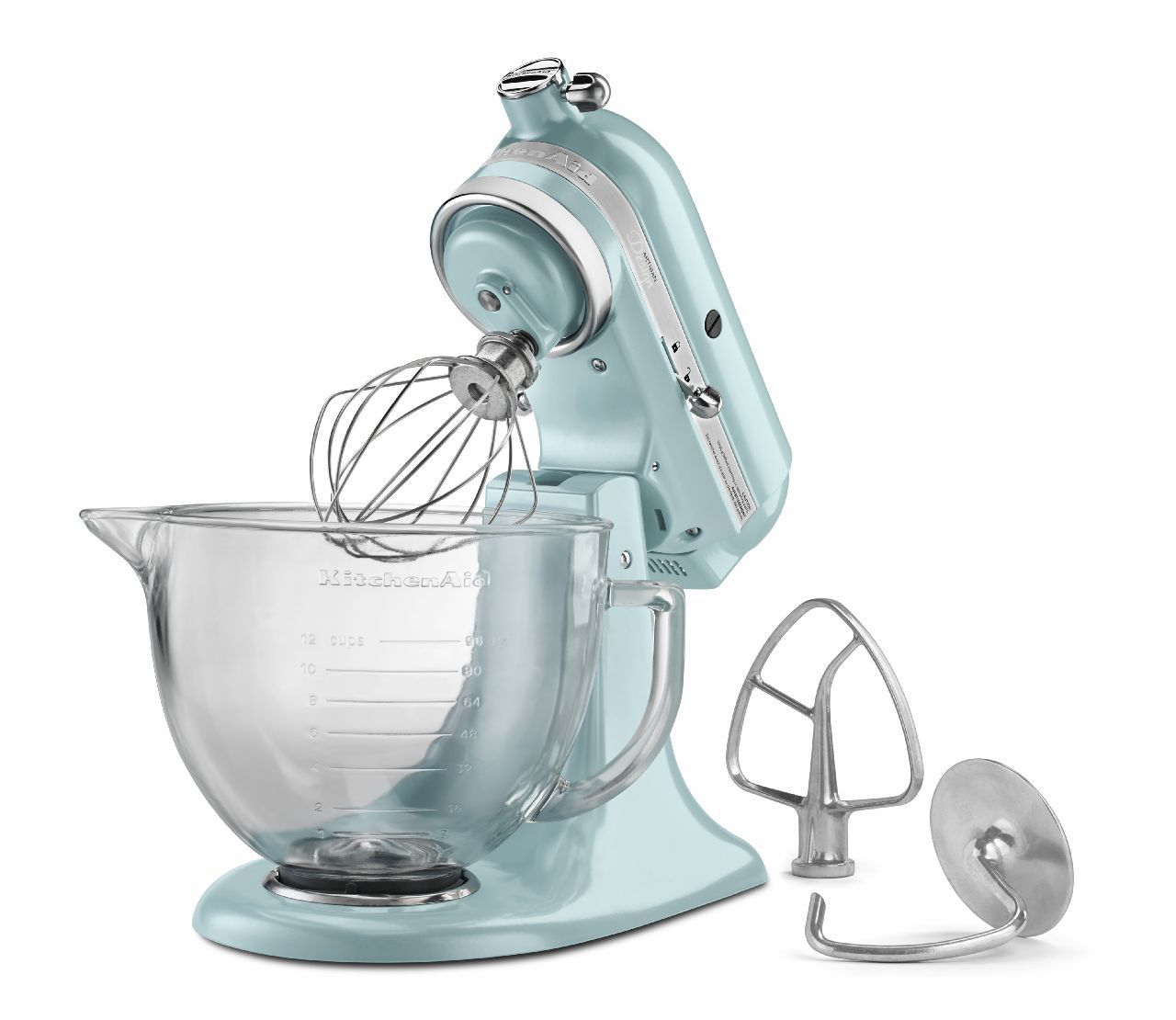 KitchenAid Artisan Design Blue Stand Mixer - KSM155GBAZ