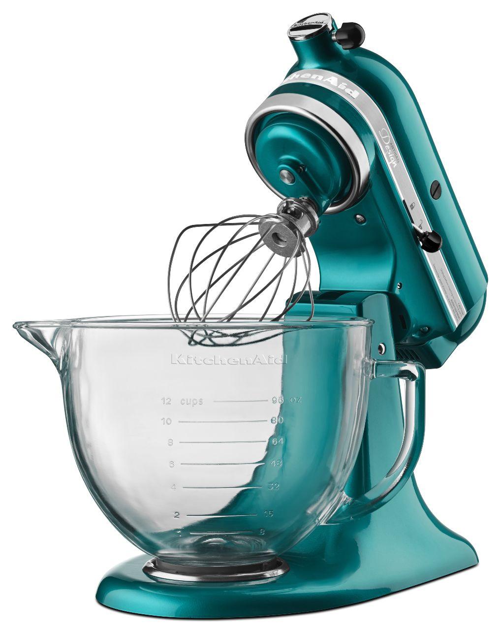 Kitchenaid Artisan Cristal Marino Stand Mixer Ksm155gbsa
