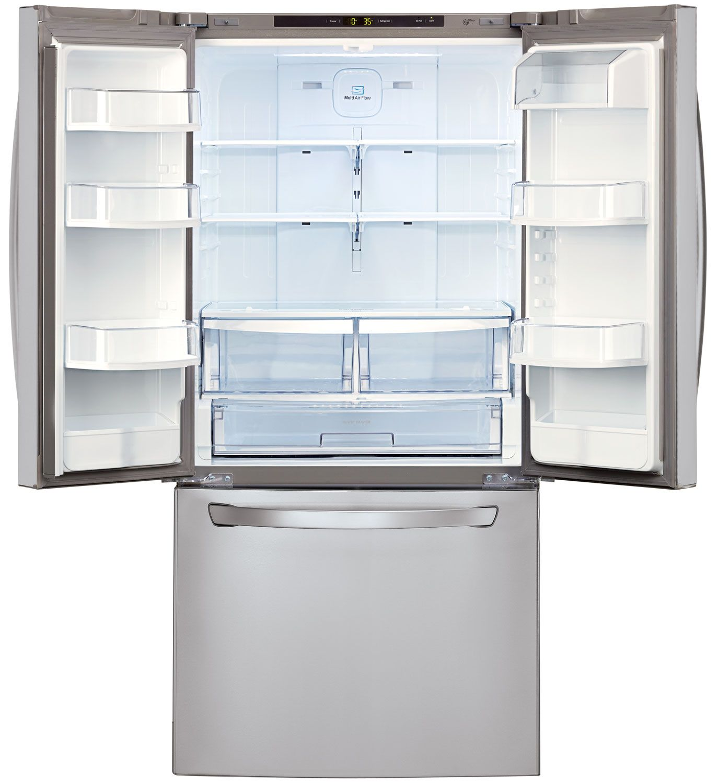Lg stainless steel french door refrigerator lfc24770st main image 1 2 rubansaba