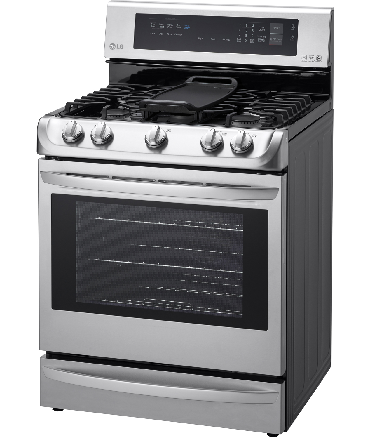 Stainless Steel Kitchen Stove lg stainless steel freestanding gas range - lrg4115st