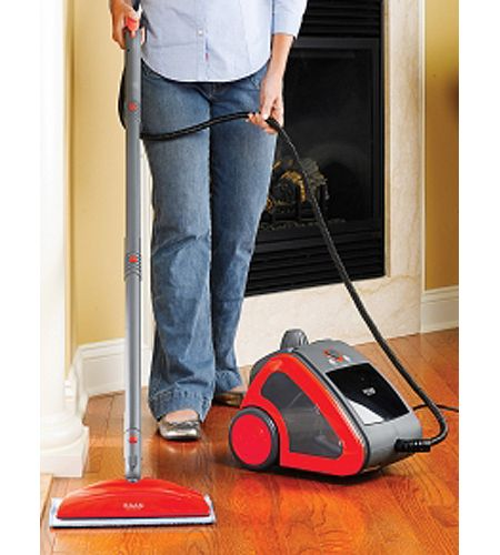 HAAN Red Commercial Sanitizing Steam Mop MS35 Abt