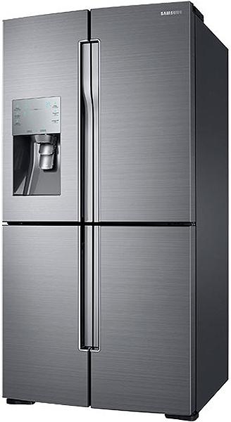 Samsung Stainless 4 Door Flex Refrigerator Rf28k9070sr