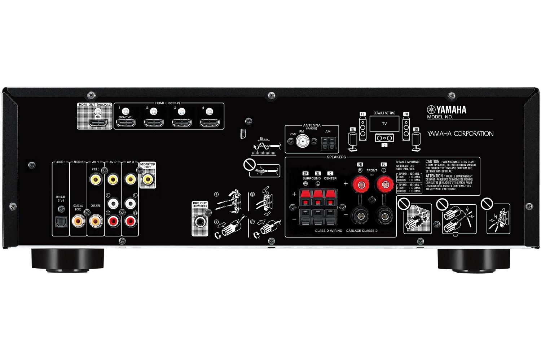 Yamaha Black 5 1 Channel Network Av Receiver Rx V383bl
