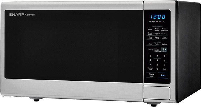 Sharp Stainless Steel Countertop Microwave Smc1843cm
