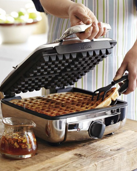 All Clad Stainless Steel Electric Waffle Maker 99010gt