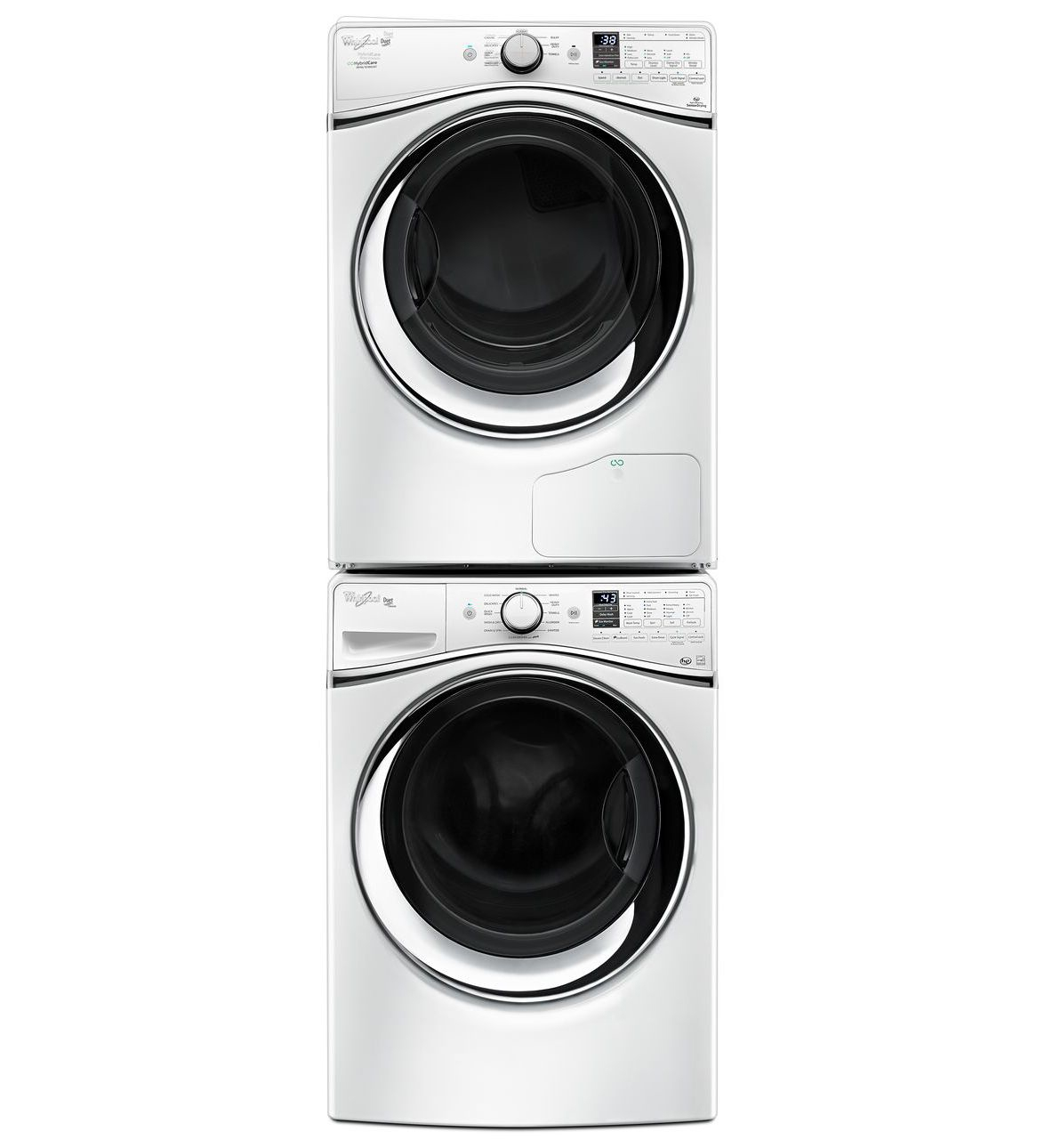 Whirlpool White Duet Electric Dryer