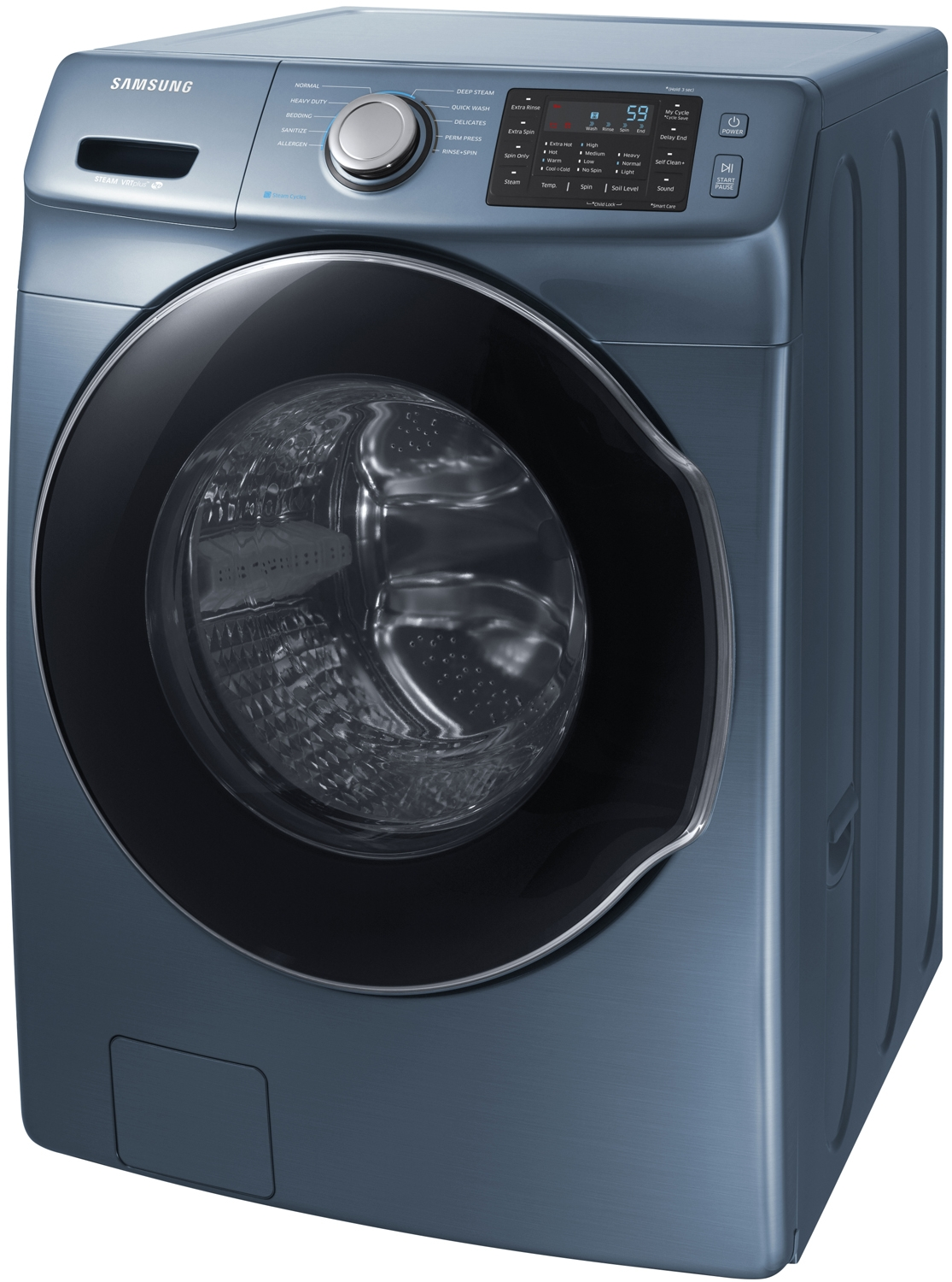 Samsung Azure Blue Front Load Steam Washer Wf45m5500az