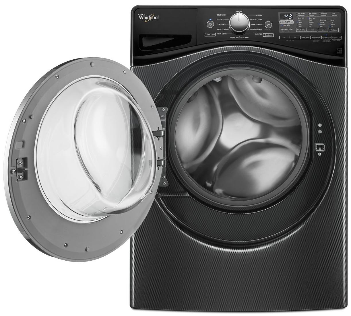 Whirlpool 4 2 Cu Ft Closet Depth Washer Wfw9290fbd