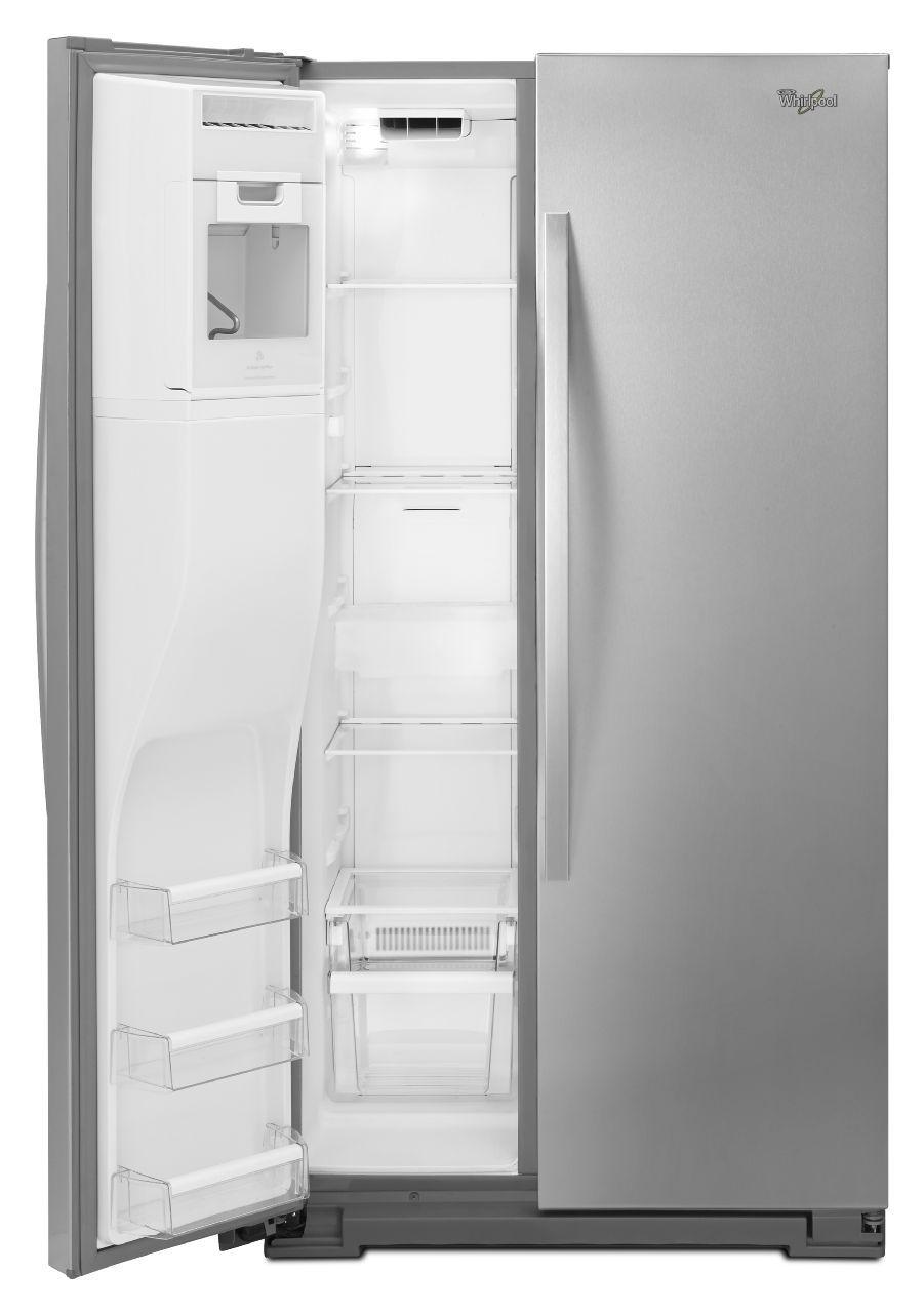 Whirlpool white ice refrigerator counter depth - Main Image 1 2