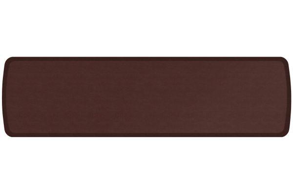 GelPro Elite Vintage Leather Sherry 20x72 Anti-Fatigue Mat - 109-28-2072-2