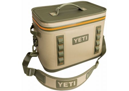 YETI Field Tan Hopper Flip 18 Cooler - 18050120000