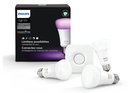 Philips Hue White And Color Ambiance E26  Starter Kit - 464479
