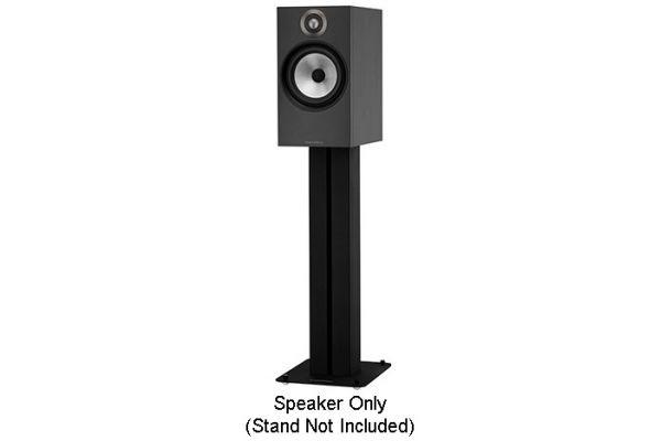 Bowers & Wilkins 600 Series Black Bookshelf Speakers (Pair) - FP40746