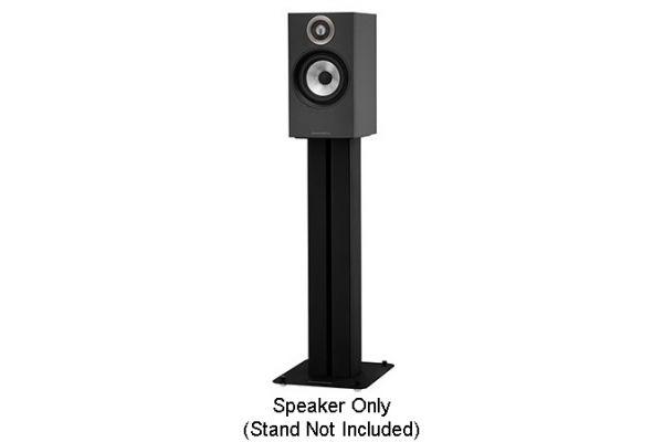 Bowers & Wilkins 600 Series Black Bookshelf Speakers (Pair) - FP40711
