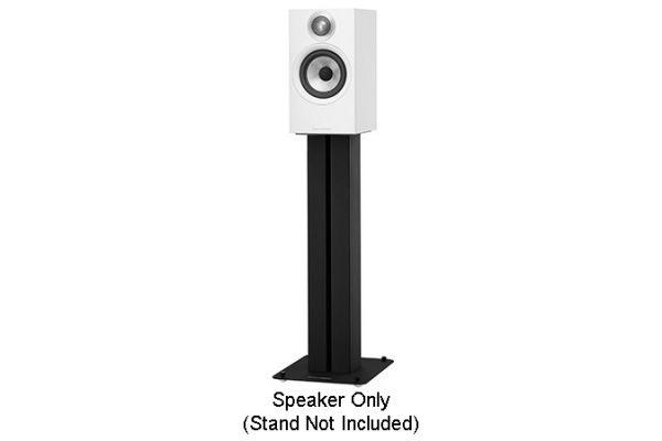 Large image of Bowers & Wilkins 600 Series White Bookshelf Speakers (Pair) - FP40738