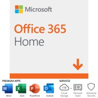Microsoft Office 365 Home, 12-Month Subscription, Up To 6 People,  PC/Mac Download