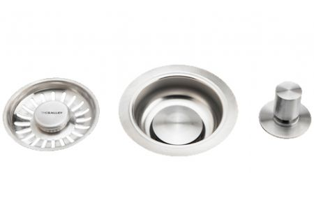 The Galley Matte Stainless Steel Strainer Basket - A-DRN-MSS