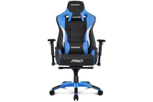 Large image of AKRacing Master Series Blue Pro Gaming Chair - AK-PRO-BL
