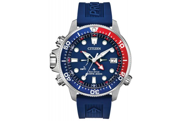 Large image of Citizen Eco-Drive Promaster Aqualand Blue Mens Watch - BN203801L