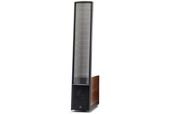 Large image of MartinLogan Classic ESL 9 Walnut Floorstanding Speakers (Pair) - CLASSIC9WAL