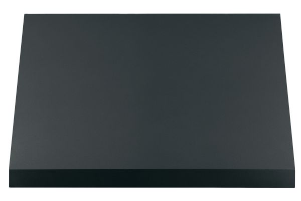 "Large image of Cafe 36"" Matte Black Commercial Wall Hood - CVW93613MDS"