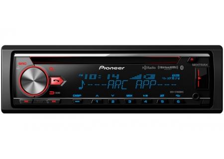 Pioneer Single DIN Bluetooth CD Receiver - DEH-X7800BHS