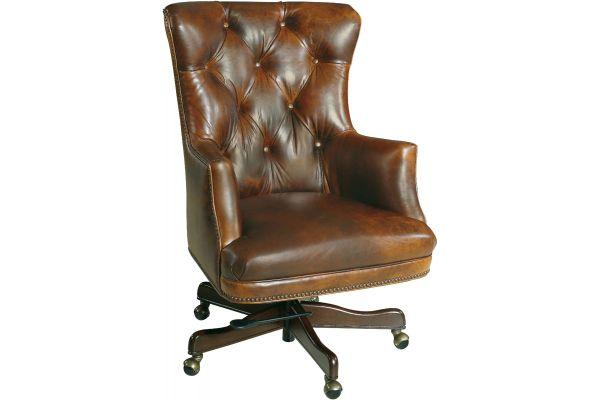Large image of Hooker Furniture Home Office Bradley Executive Swivel Tilt Chair - EC436-087