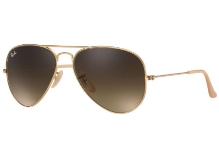 Ray-Ban Large Metal Gold Aviator Unisex Sunglasses - RB3025 112/85 58