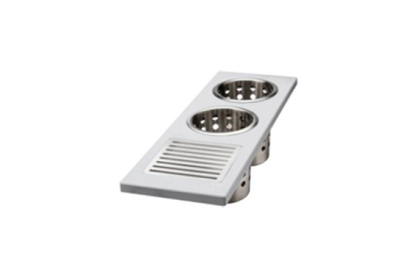 Large image of The Galley Grey Upper-Tier Utensil Caddy - UC-06-U-GR