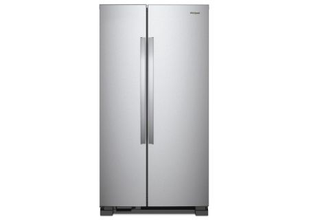 Whirlpool Stainless Steel Side-By-Side Refrigerator - WRS312SNHM
