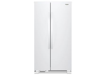 Whirlpool White Side-By-Side Refrigerator - WRS312SNHW