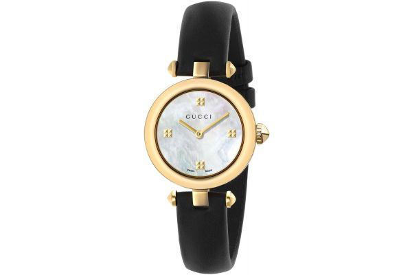 Gucci Diamantissima Yellow Gold Ladies Watch - YA141505